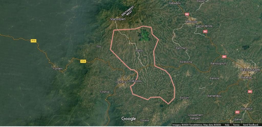 Maps Bafou
